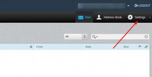main webmail settings